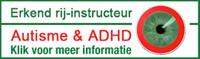 Erkend rijinstructeur autisme & ADHD